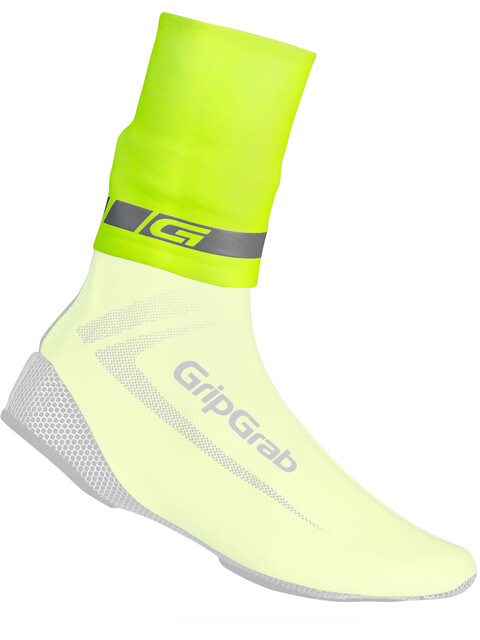 GripGrab CyclinGaiter Hi-Vis Overshoe Fluo Yellow